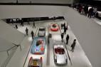 Ausstellungsfläche im Porsche Museum