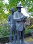Statue im Köllnischen Park in Berlin