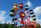Das Familien-Riesenrad im Freizeit-Land Geiselwind