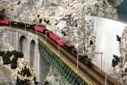 Miniatur Wunderland: Eisenbahnbrücke