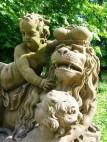 Skulpturen im Garten der Residenz