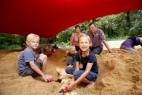 Ausgrabungen im Forschercamp