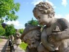 Skulpturen im Ostgarten